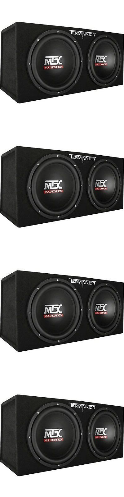 Car Subwoofers: Subwoofer Box 12 Inch Sub Dual Mtx Audio Terminator Series Tnp212d2 Enclosure BUY IT NOW ONLY: $189.99