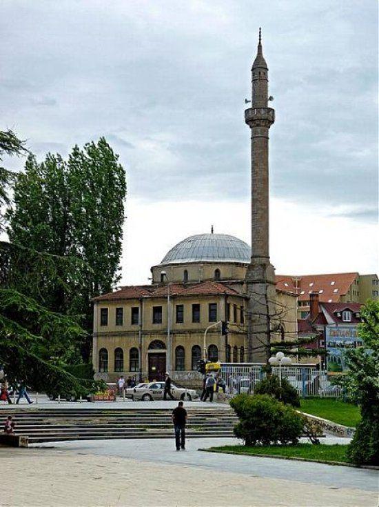 The Carshia Mosque (or Stone Mosque) in Prishtina, Kosovo