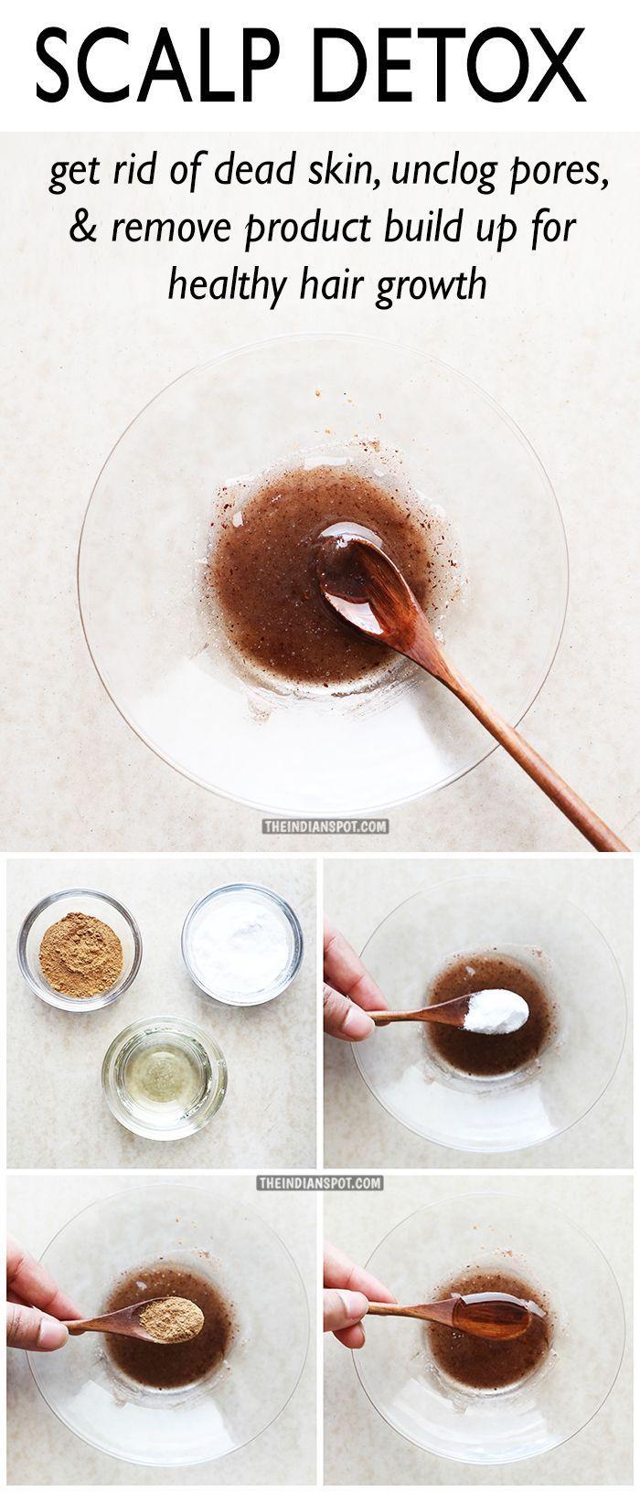 Scalp Detox 1 Teaspoon Of Baking Soda 1 Tablespoon Of Olive Oil 1 4