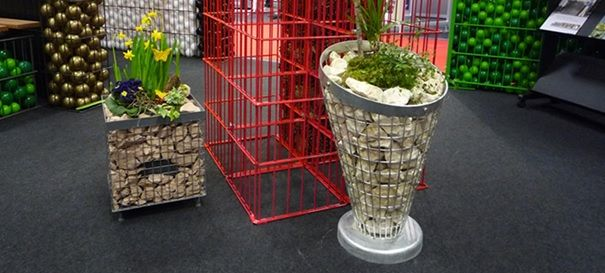 gabions in the interior