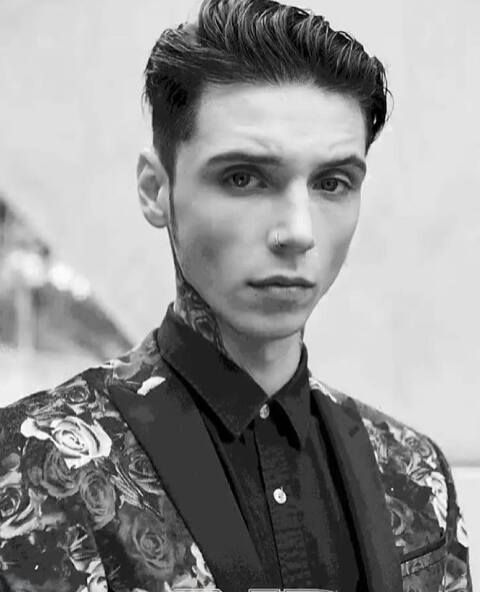 17 Best images about Andy Biersack on Pinterest | Initials ...