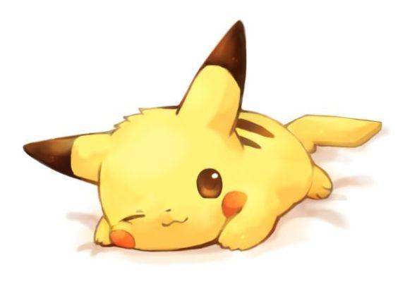 Resultado de imagen para pikachu tierno bebe #futboldibujos