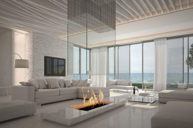 10 best hi tech images on pinterest homes arquitetura and bathrooms 20 beautiful all white living room ideas malvernweather Image collections