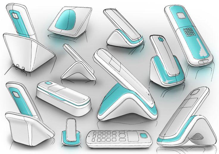 Sketch by William Stuart. #sketch #rough #design Productdesign