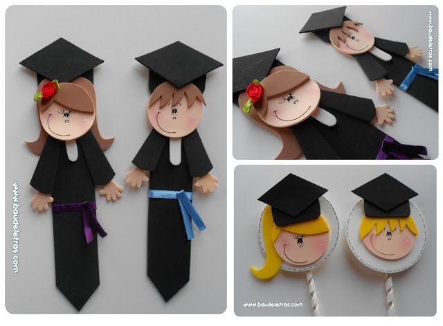 decoracion en graduacion para quinto grado - Buscar con Google