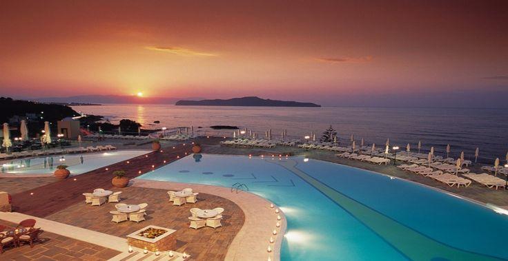Solnedgang fra Panorama hotel