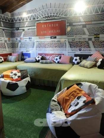 Más de 1000 ideas sobre Dormitorio De Fútbol en Pinterest ...