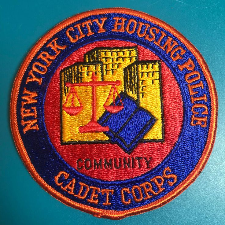 New York City Housing Police Cadet Corps NYC Patch