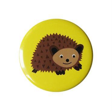 Hedgehog Pocket Mirror. Design Sara Vestberg. www.saravestberg.co.uk