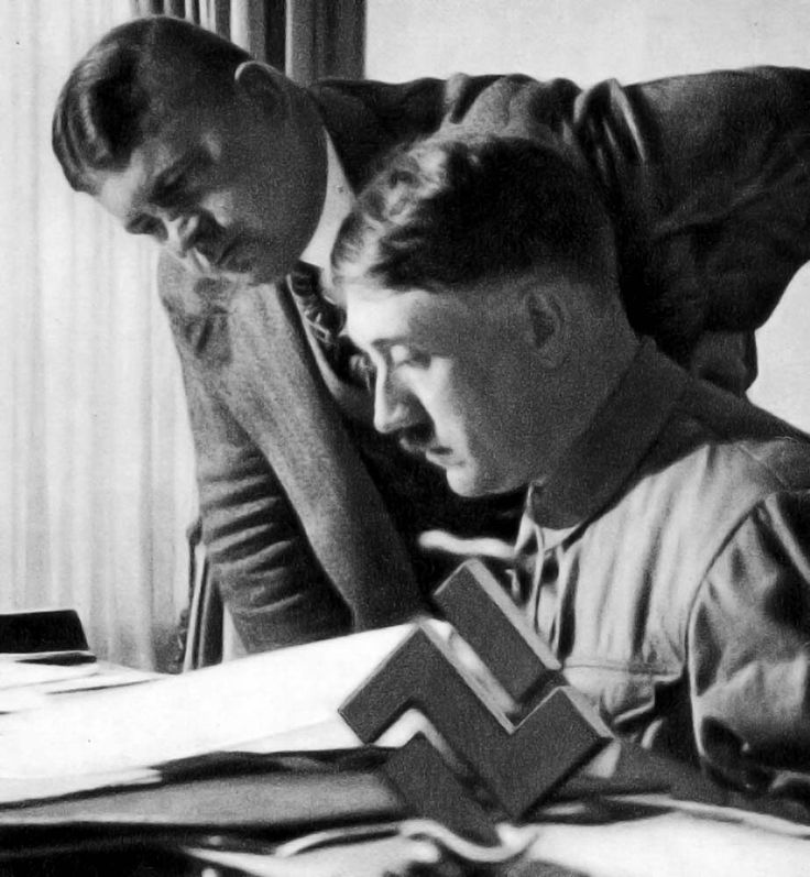 Hitler Quotes On Youth: Adolf Hitler And Ernst Rohm In 1933