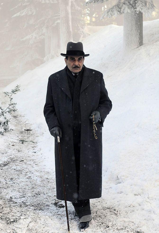 Agatha Christie's Poirot: photos, 2004—2010 || British actor David Suchet