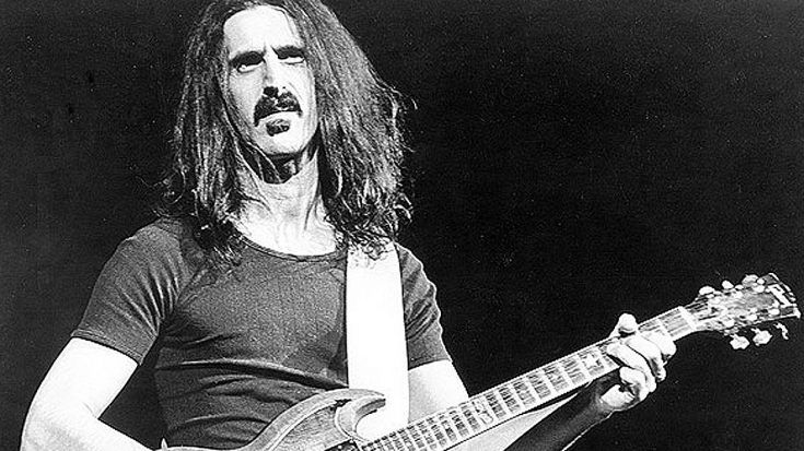 In 1991, Frank Zappa Performed On Stage For The Last Time, And It Was Heartbreaking | Society Of Rock Videos