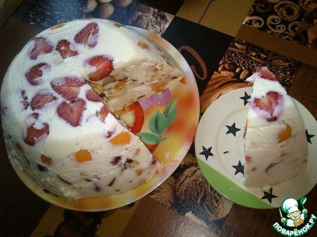 Крымский заливной торт - нереально вкусно и ароматно!