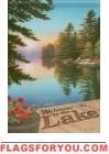 Welcome / Lake Garden Flag