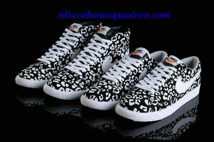 Nike Blazer High Shoes Cheap For Sale Premium Print Leopard Pack 536698 014