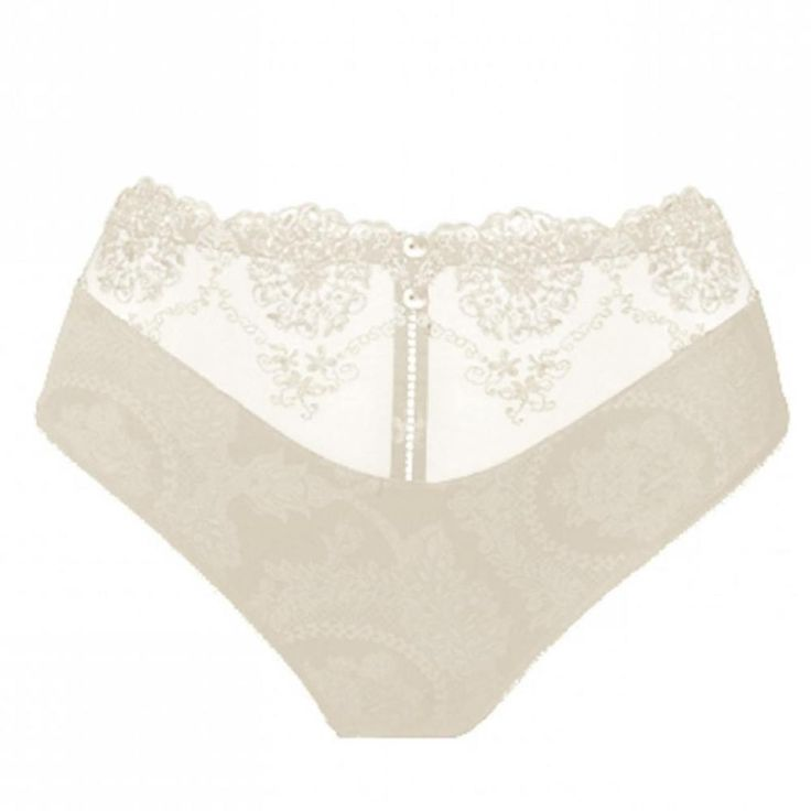 New Ivory Empreinte Lilly Rose Briefs UK 16 Fr 46 Eur 44 USA XL Knickers Pants
