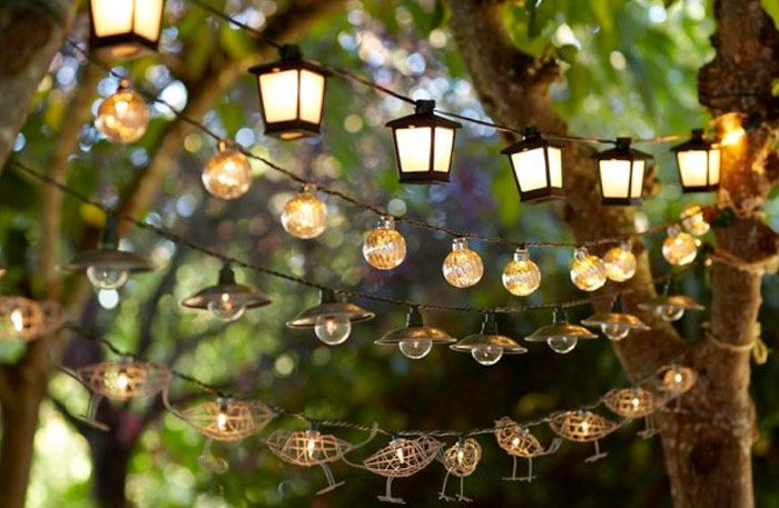 Make your garden cozy even at night with outdoor lighting - Comfortable home