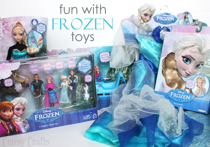 Fun with Disney FROZEN Toys! #FrozenFun #shop #cbias