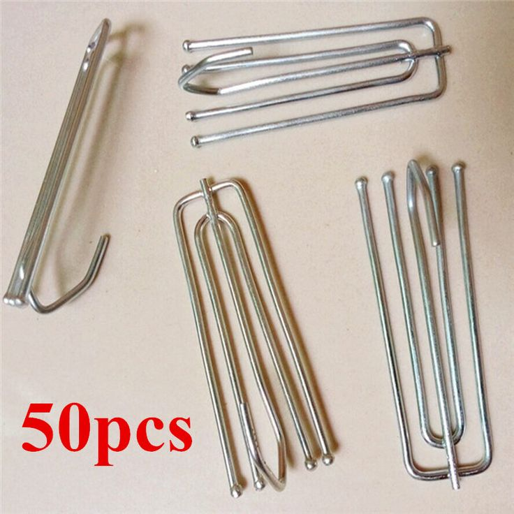 Quality 50pcs/lot Curtain hooks Stainless Steel curtain's holder four claw Iron Claw Hooks curtain accessories 104A for cortina #Affiliate