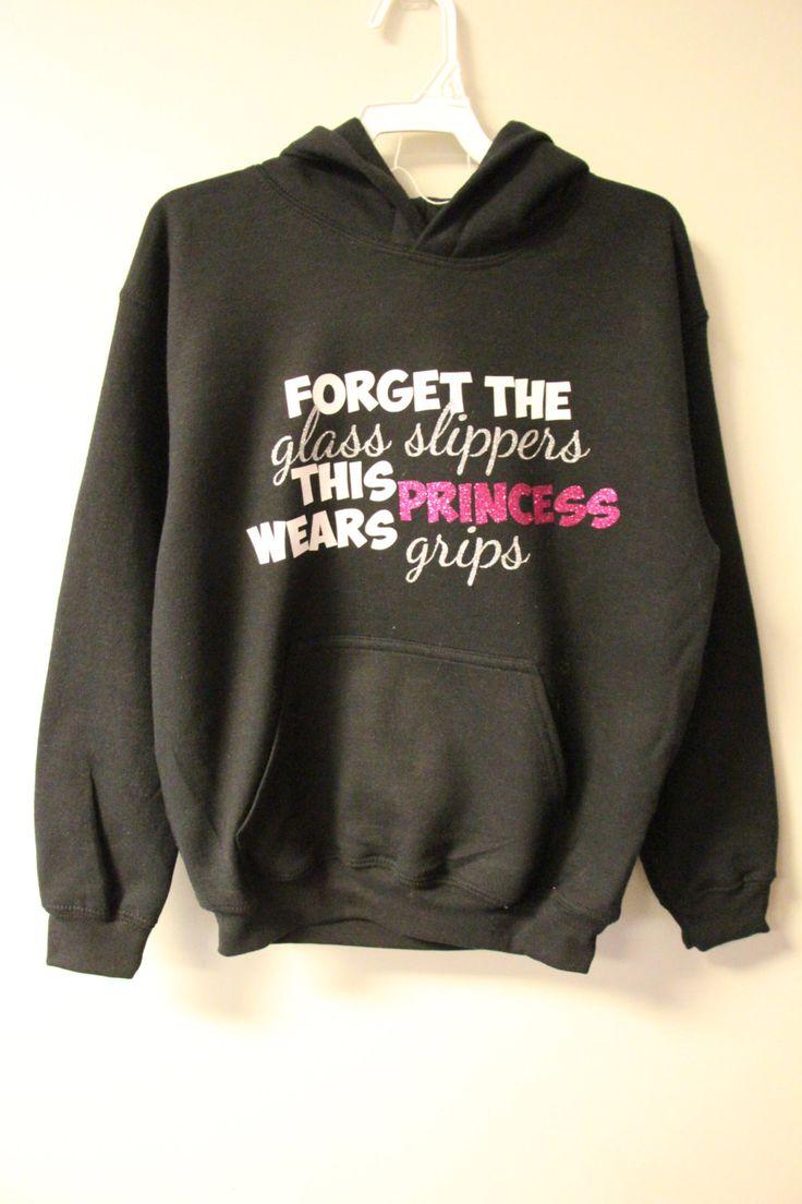Gymnastics Princess Sweatshirt by JLGlitterDesigns on Etsy https://www.etsy.com/listing/222340973/gymnastics-princess-sweatshirt