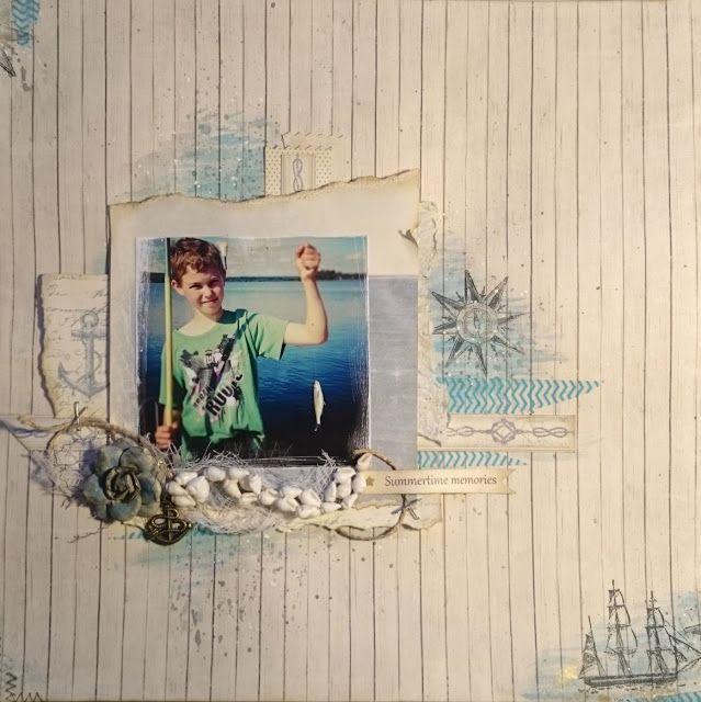 Summertime memories - by Helena Wikman. #shorelinetreasures #piondesign