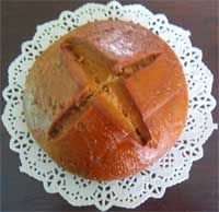 Pane Conciù is a sweet bread. It is a typical cookie made in the area of Ogliastra Sardinia. The best way to savor it is sliced very thinly and accommpanied with a good Sardinian wine.