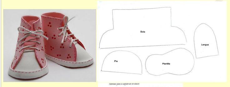 Как сшить обувь для кукол и игрушек. Выкройки обуви для кукол / Мастер-класс
