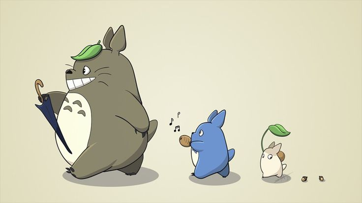 🎶yo yo yo soy Totoro