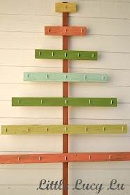 Christmas Tree Card Holder - doing this with branches instead of ...