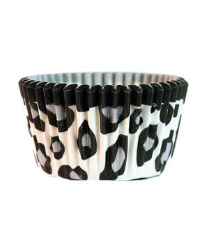 Love this White Leopard Cupcake Liner - Set of 64 by Cupcake Creations on #zulily! #zulilyfinds