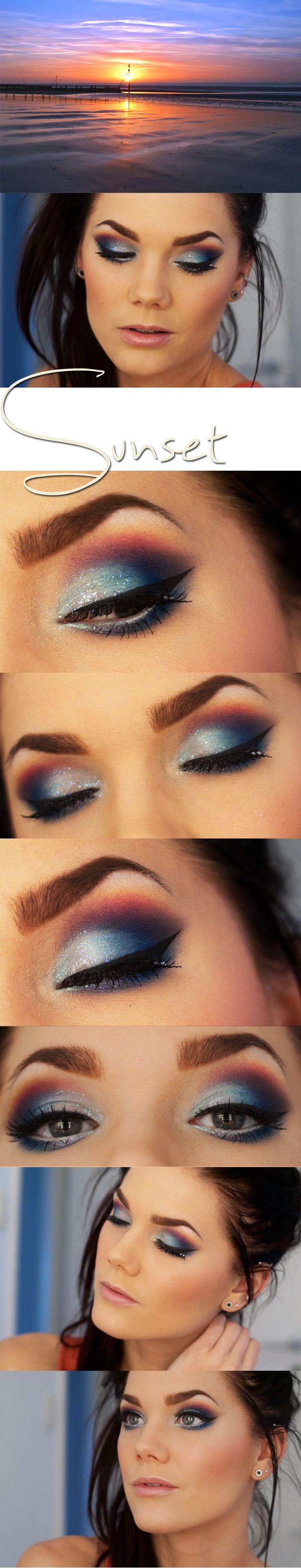 Sunset  Linda Hallberg -makeup artist