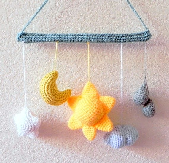 251 best images about Crochet Mobiles on Pinterest Free ...