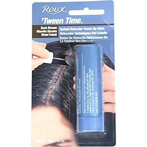Roux Tween Time Temporary Haircolor Touch-Up Stick--amazing--didn't even come off at the gym!