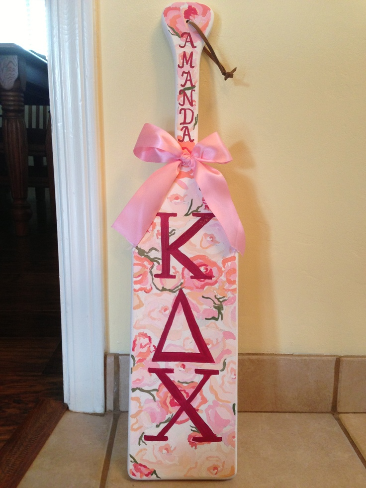 Kappa Delta Chi meets rose pattern