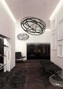 Copernico suspension, design by Carlotta de Bevilacqua, Paolo Dell`Elce, 2012