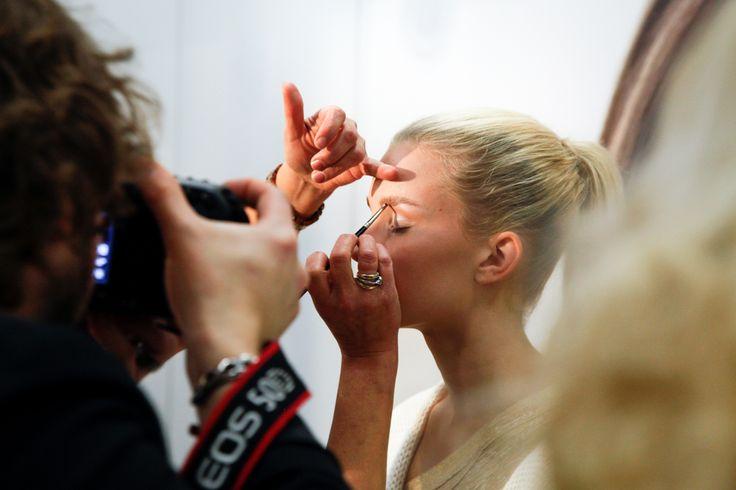 Lumene @ Elle Style Awards 2014. #behindthescenes #model #lumene