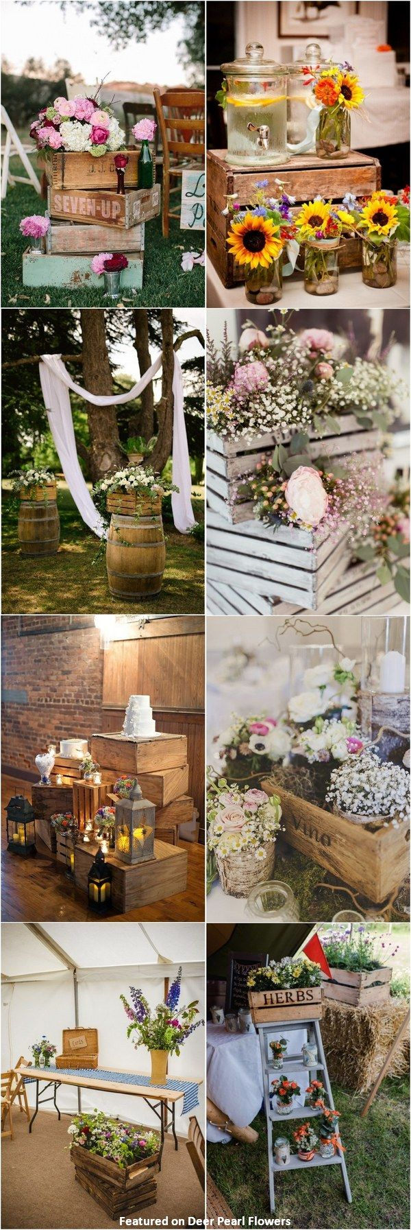 ideas about Jewish Dating on Pinterest   Work ecards  Bad     rustic country wooden crate wedding decor ideas   http   www deerpearlflowers