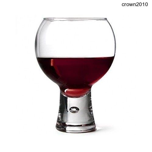Durobor Alternato Wine Glass 540ml (19oz) Short Stem Non-tempered Glass x6