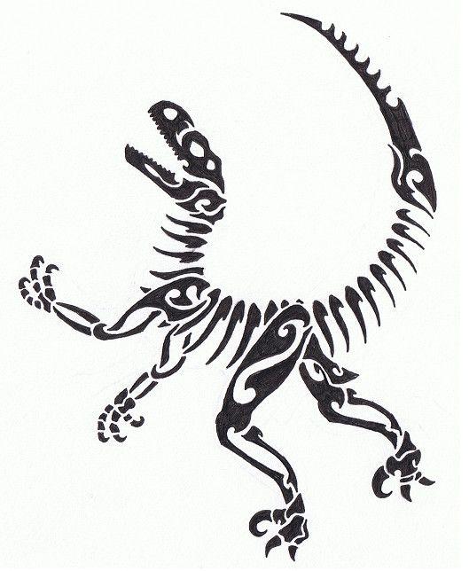 Tribal Raptor Skeleton | Lugares para visitar | Pinterest ...
