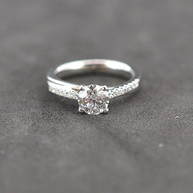 0.80ct D colour Exceptional white!set in a heavy platinum crossover mount. #Dcolour #diamonds #engagement #engagementrings #Platinum #PlatinumCork #cork #Ireland