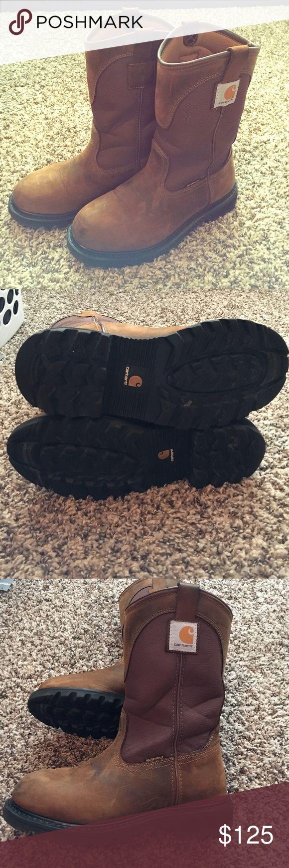 Women's Carhartt Wellington boot Great condition. Worn look waterproof Carhartt Shoes Combat & Moto Boots