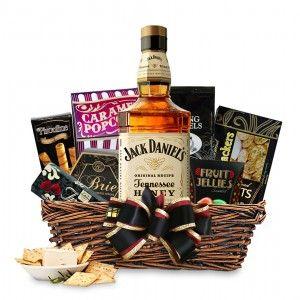 Buy Jack Daniel's Tennessee Honey Whiskey Gift Basket Online