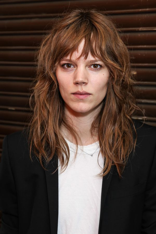 This It Girl Cut Is Having A Serious Moment #refinery29  http://www.refinery29.com/2016/07/116032/debbie-harry-haircut-inspiration#slide-9  The shag isn't just a shoulder-length style — take a look at model Freja Beha Erichsen's collarbone-grazing version. ...