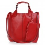 Stacie Red Leather Handbag $249.95 FREE SHIPPING WITHIN AUSTRALIA available online at sterlingandhyde.com.au