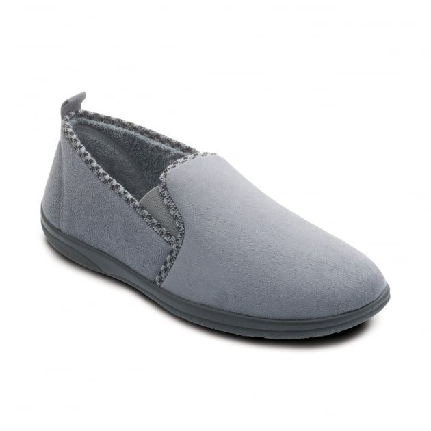 Lewis 470 Grey Slippers