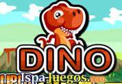 Juego de Dino Super Saltando   JUEGOS GRATIS: Un dinosaurio bebe acaba de nacer y ahora su aventura comienza, empezando a comer varias monedas de cavernicolas, manejalo con el mouse y salta con el clic y ten cuidado de los obstáculos y de no caer al fondo
