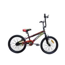 "Genio Sepeda BMX 20"" Trick Rotor - Hitam Merah"