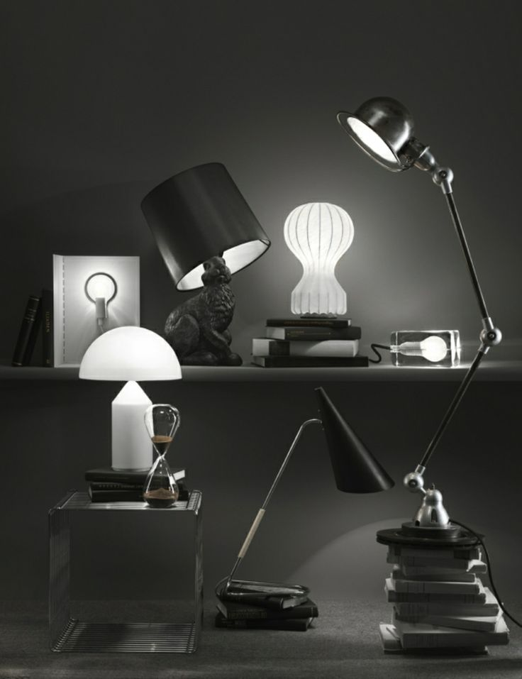Block Lamp by Harri Koskinen for Design House Stockholm, together with lamps from Moooi, Jieldé and many others. Photography by Pål Allan @ LundLund agency.