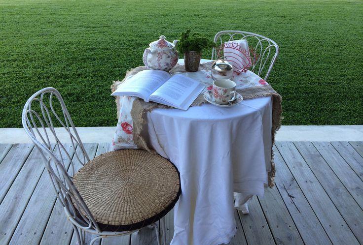 #Tea, #Garden, #relax