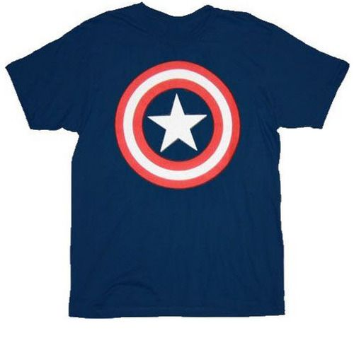 Captain America Star Logo T-shirt